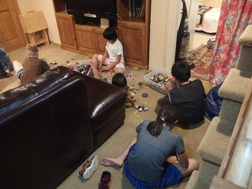 レゴブロック遊び